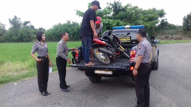 Motor Protolan Diamankan Polisi di Pantai Sirkuit
