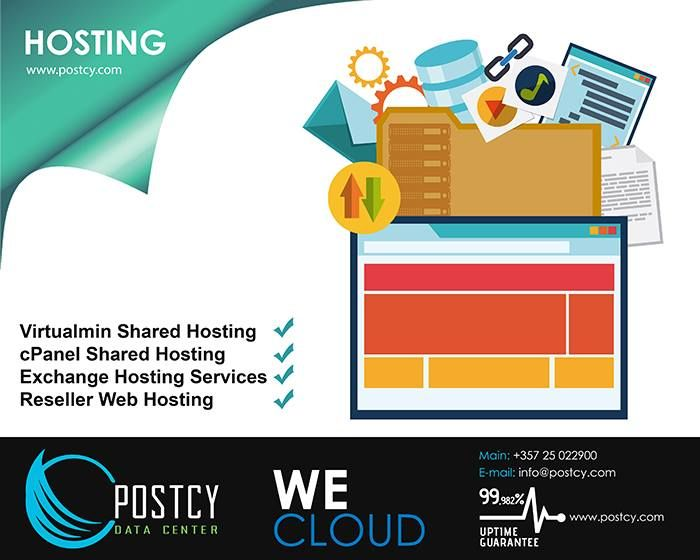 PostCy offers reliable Web Hosting services, Domain Registration Services, Managed DNS Services, SSL Certificates...