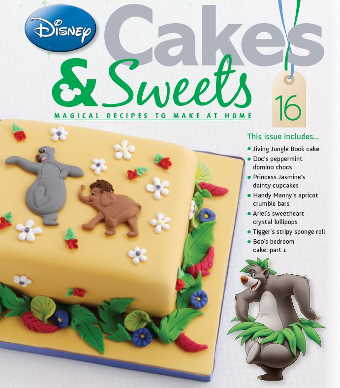Make this Jungle Book cake in issue 16 #disneycakes
