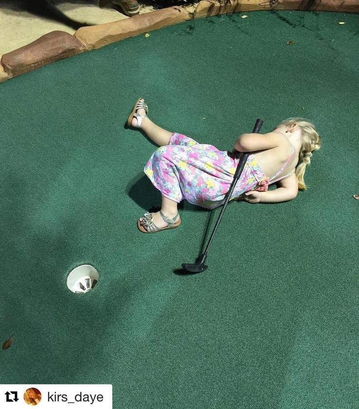She got a hole-in-one so naturally we're #assholeparents Via @kirs_daye