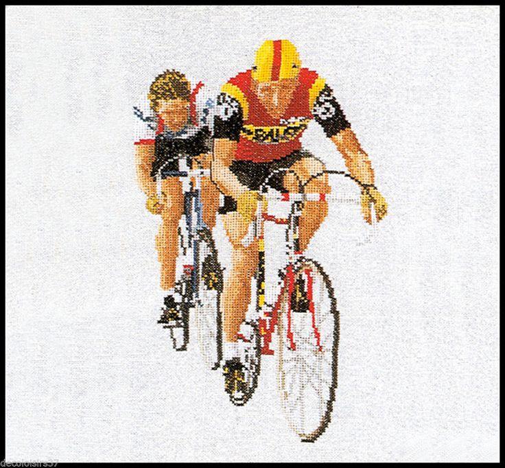 Thea Gouverneur Broderie Point de Croix Compté Course Cycliste - Cycling - 1015