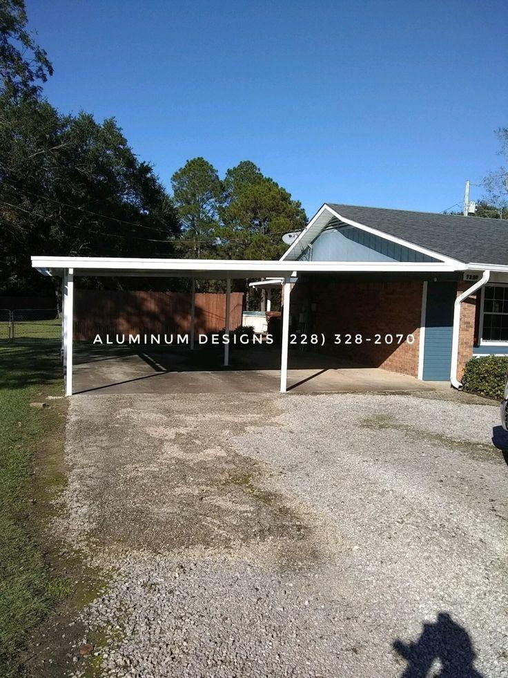 Aluminum Carports, RV Covers, Walkway covers Aluminum