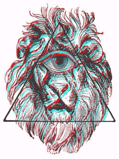 trippy shit.Iron Zion Lion | Trippy | Pinterest | Lion Trippy ...