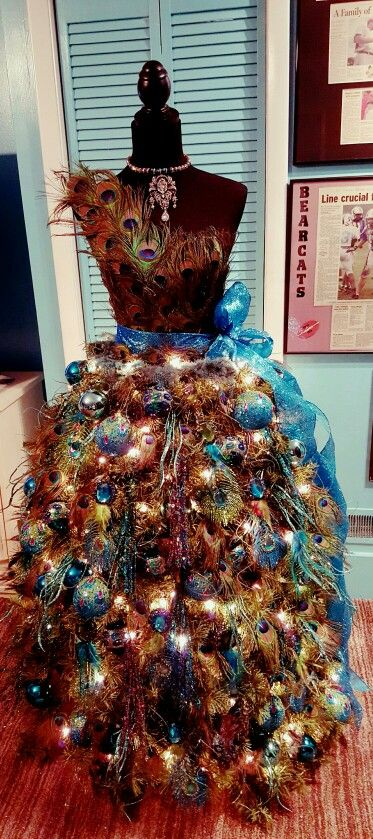 2015 dress form Christmas Tree