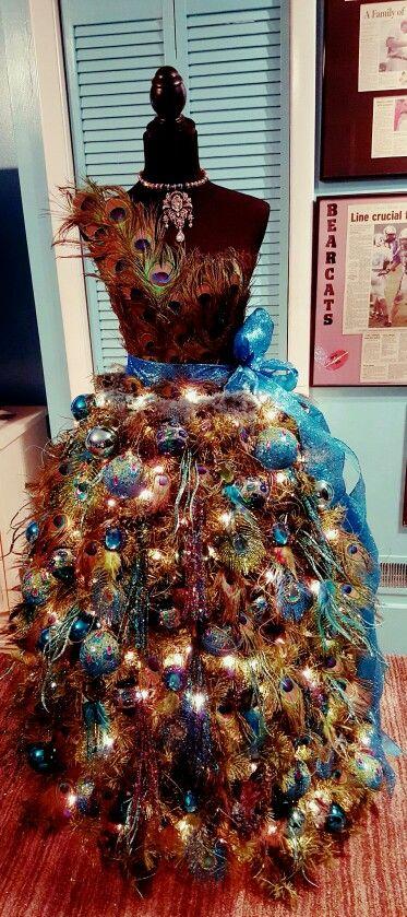 2015 dress form Christmas Tree