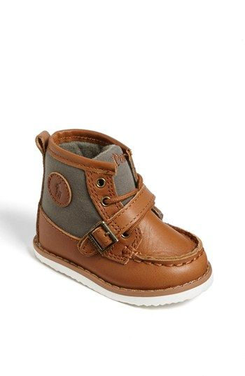 These shoes just melt my heart. Ralph Lauren Crib Shoe (Baby) | Nordstrom