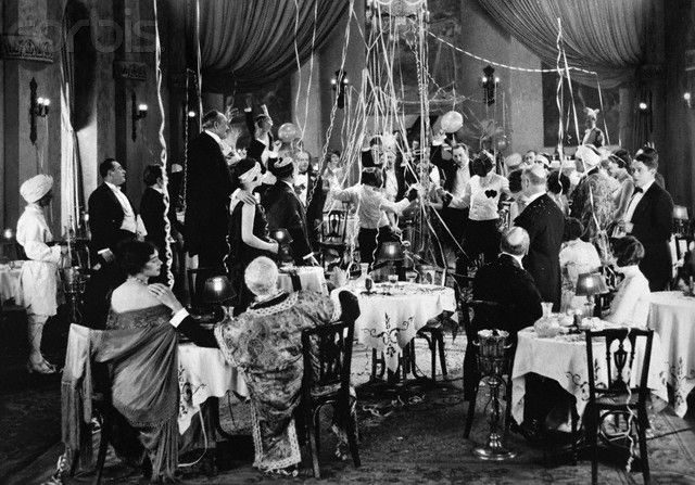 Good music, such as, jazz led to parties. Alcohol + Music meant huge parties. Entertainment became louder and wider where etiquette became looser.