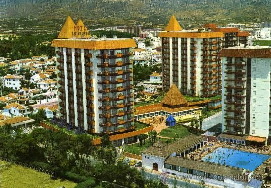 POSTAL FUENGIROLA MALAGA HOTEL LAS PIRAMIDES - Foto 1