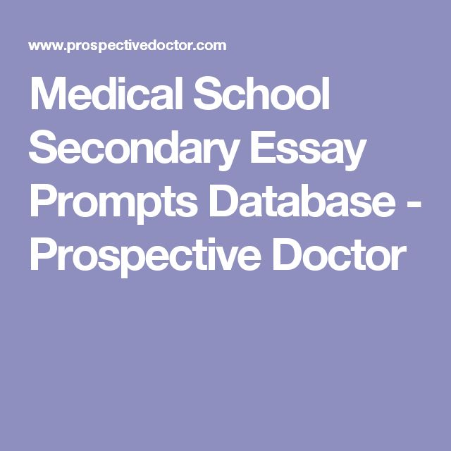 11 best Med School Preperation images on Pinterest Med school - personal statement for medical school