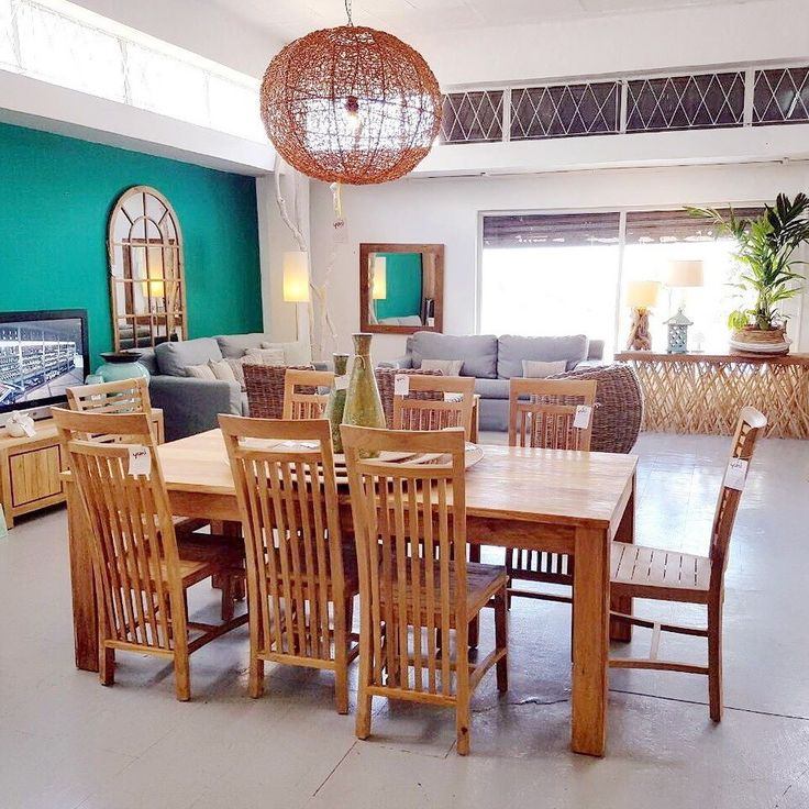 This classic yet sleek teakwood dining set is suitable for indoor and outdoor dining setting.  #bali #balifurniture #jepara #jeparafurniture #aluminumfurniture #aluminiumfurniture #dining #diningchair #diningroom #diningtable #design #designmag #designideas #furniture #indoorfurniture #interior #interiordesign #interiorideas #rattan #rattanfurniture #teakfurniture #teakwood