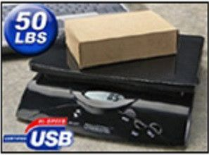 DW-50BPLS 50 Lb Digital Postal Scale For Endicia Only