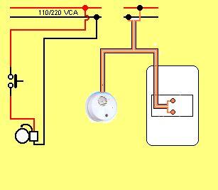 17 best images about electricidad on pinterest cable - Como conectar un sensor de movimiento de tres cables ...