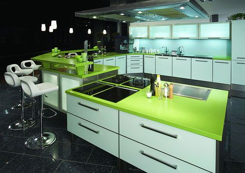 Green Colored Kitchen Countertops : Painting tips for kitchen cabinetry vangura remodelers