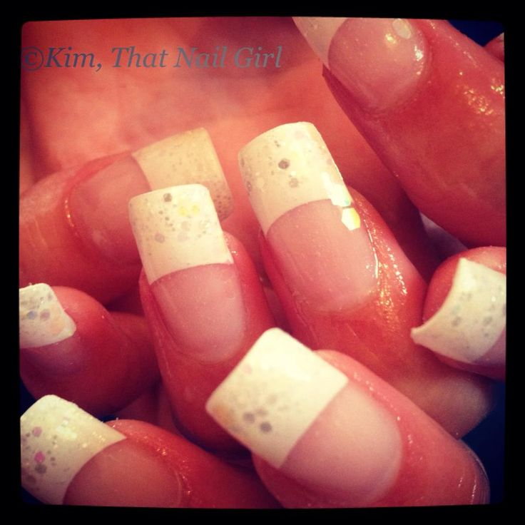 26 best wedding nails for the bride and party images on pinterest that nail girl creates a lovely nail design that any bride would be trilled to sport prinsesfo Images
