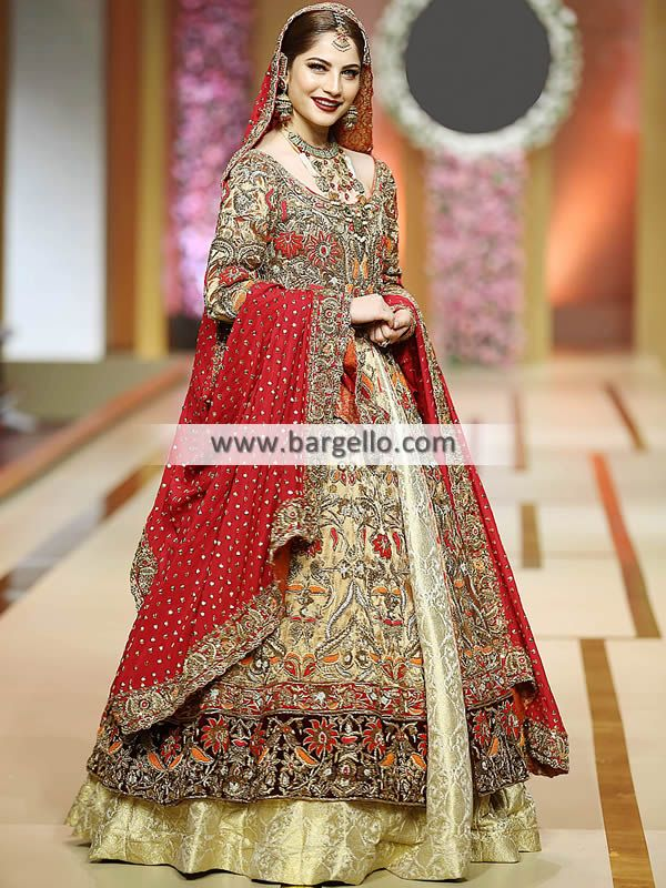 f9e5f4475eff2 Champagne Aster Designer Annus Barber Wedding Dresses Wedding Lehenga with  price Lehenga Collection Pakistan Women >
