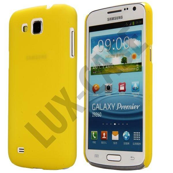 Slim Series (Gul) Samsung Galaxy Premier Deksel