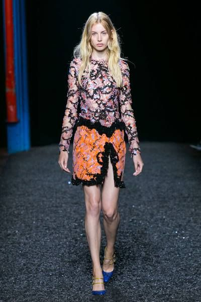 Mary Katrantzou Spring Summer 2015 Look 27