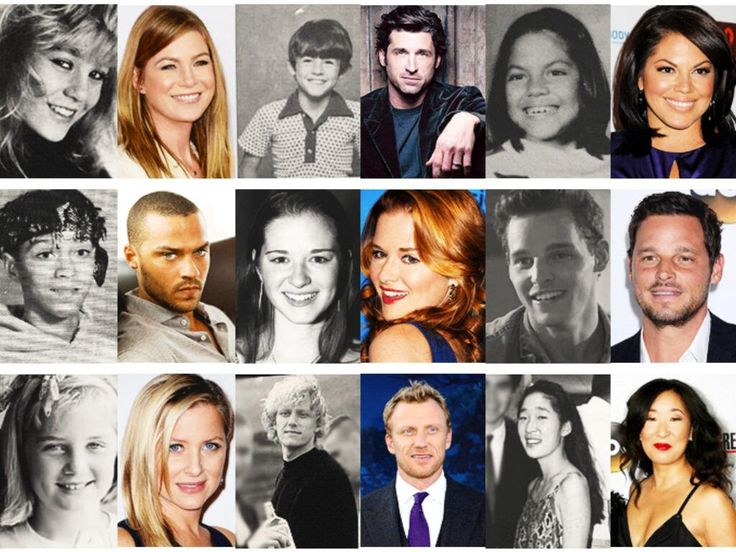 Greys Anatomy Cast Picture Click Quiz By Carolineth92