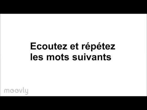 La prononciation des voyelles en français première version