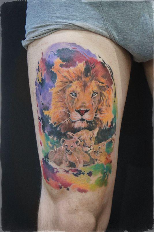 означает тату семья львов фото данный момент сотрудничает