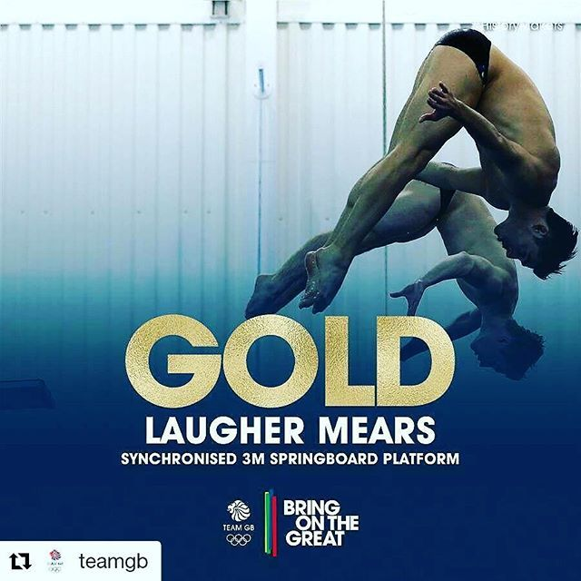 #Repost @teamgb with @repostapp ・・・ #GOLD! Stunning, stunning diving from Jack…
