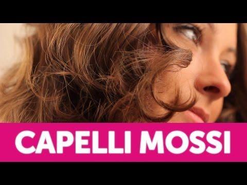 Come fare i Capelli Mossi | Le Acconciature fai-da-te di Elisa