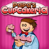Papa's Cupcakeria is a recreational game with a cute art style. Make the tastiest cupcakes possible and make money to help the store grow more popular.                  https://www.freegames66.com/papas-cupcakeria