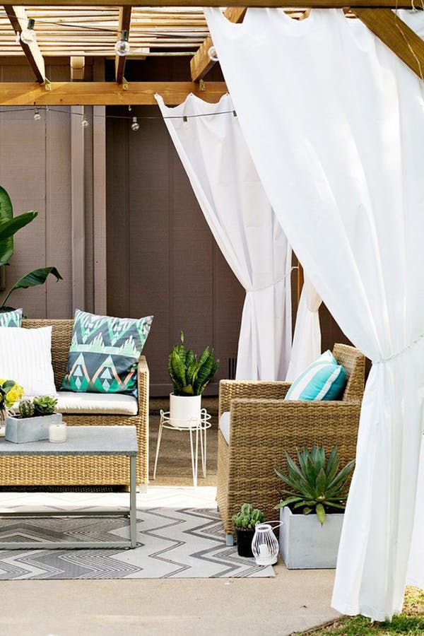 11 Chic Ways To Make Your Yard More Private