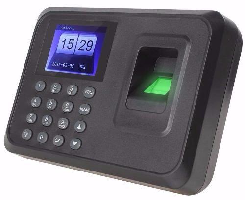 Relógio Ponto Biométrico Digital Português P/funcionario Usb - R$ 189,99