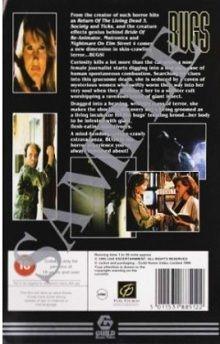 """BUGS (""""Silent Night, Deadly Night 4"""", """"BRIAN YUZNA"""", 1990), PAL VHS, """"GUILD HOME VIDEO"""", (""""Fox Guild Home Entertainment""""), Italy EU, Italia, Itaalia, """"European Union"""", """"Euroopan unioni"""", """"Euroopa Liit"""", Firenze, Florence, ötökät, nivelkärsäiset, nokalised, giallo, """"Dr Martens"""", jungenhaft, italialainen ruoka, """"Italian cuisine"""", košer, poikatyttö, """"Bella Goth"""", """"mod the Sims 2"""", Grufti, """"Nina Hagen"""", """"Kristen Pfaff"""", """"Fairuza Balk"""". """"Louise Bourgoin"""", grunge bob, """"Brexit EU"""" & """"UK leaving EU"""""""