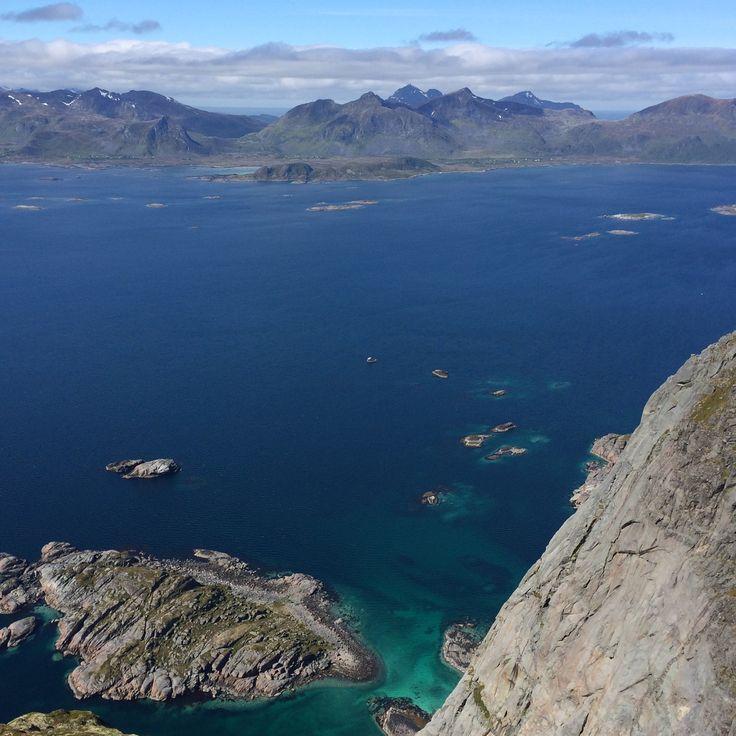 Festfågtinden. Lofoten. Norway