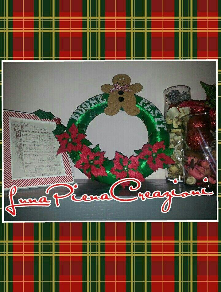 Fuoriporta ghirlanda Natale