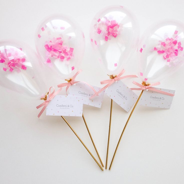 Mini Confetti Balloons! Confetti and Co.