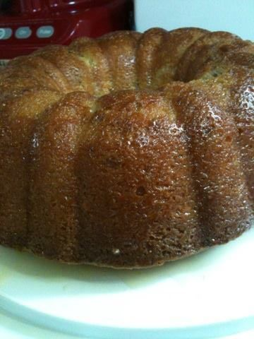 Maple Crown Royal Pound Cake with Maple Crown Royal Butter Glaze | P.B. And Just About Everything Else