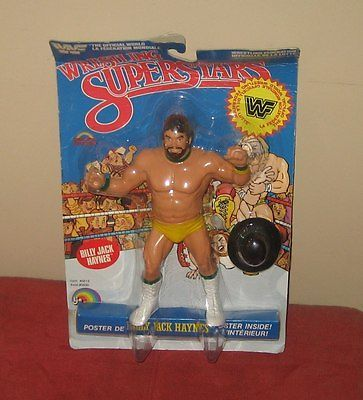 WWF WWE LJN Wrestling Superstars Billy Jack Haynes Figure MOC   | eBay