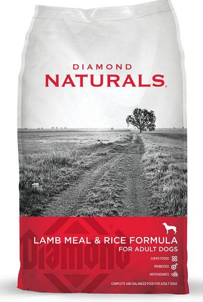 Diamond Naturals Lamb Meal Amp Rice Formula Adult Dry Dog