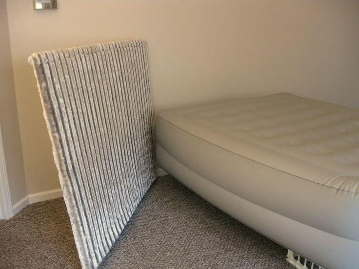 Bedroom Staging: DIY Headboard and Make-Believe Bed | DIY Home Staging Tips