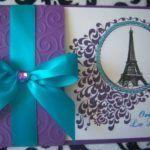invitaciones para quinceañera color morado