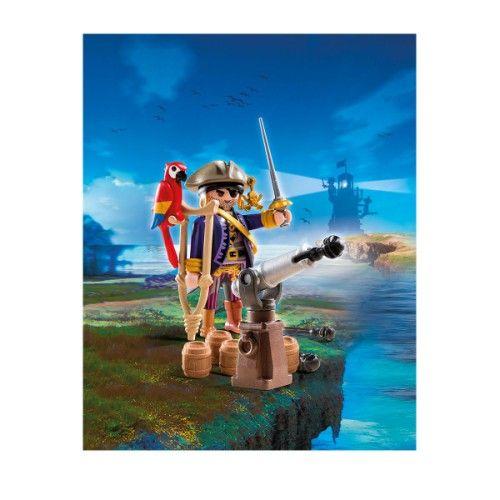 6684 Capitaine pirate avec canon Playmobil pour enfant de 4 ans à 10 ans - Oxybul éveil et jeux