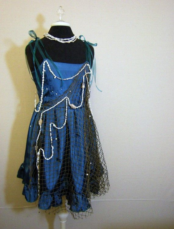 Sea Nymph Halloween Costume Size 2 by nissalynn on Etsy