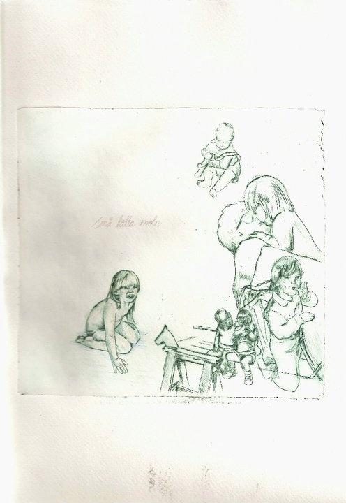 """""""Små lätta moln"""" by Ida Nyström"""