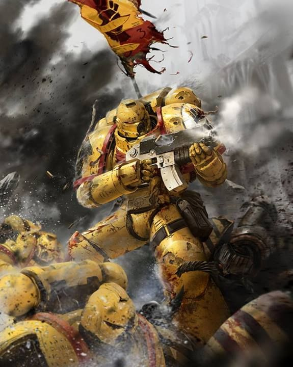 205 best imperial fist legion images on pinterest space marine imperial fist and war hammer - Imperial fists 40k ...