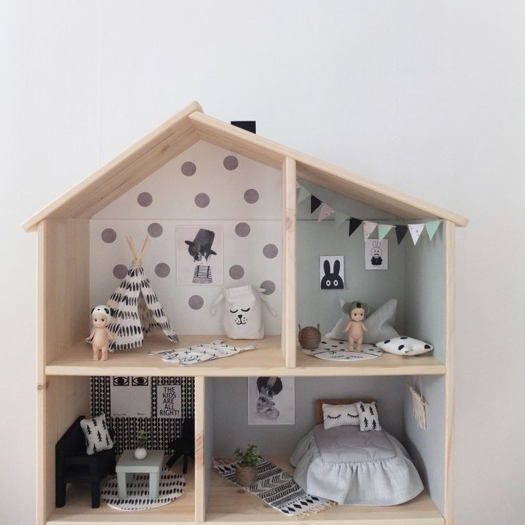 DIY ikea dollhouse - unicorns & fairytales
