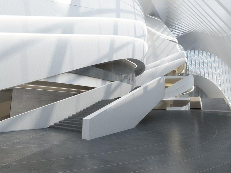 New Century City Art Centre - Architecture - Zaha Hadid Architects