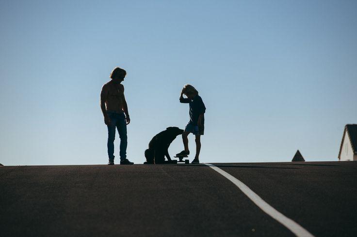 Skater Silhouettes by Daniel Cramer #skating #dog #mood #sun #photography