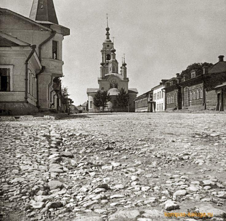 """Церковь Успения """"за верхом"""" и улица Успенская"""