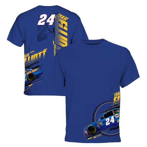 Men's Chase Elliott Royal NAPA Big & Tall Chassis T-Shirt - NASCAR.com Superstore