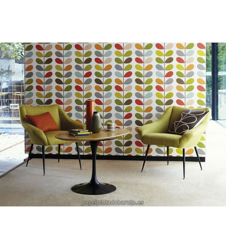 13 best papel pintado harlequin orla kiely images on - Papel pintado harlequin ...
