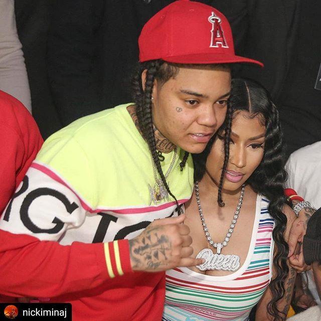 Young Ma Nicki Minaj Repost Nickiminaj Me Bae Youngma Young Ma Cute Tomboy Outfits Female Rappers