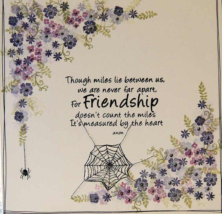 Pottery Pettites, Cobweb and Friendship quote
